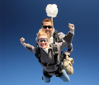 Holiday Tandem Skydive Gift Certificates