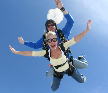 Christmas Skydiving Gift Certificates