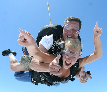 Christmas Tandem Skydiving Gift Vouchers